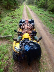Отдых на Валдае, квадроциклы, озеро Велье, Валдайский национальный парк, Fo7CWPc83kM