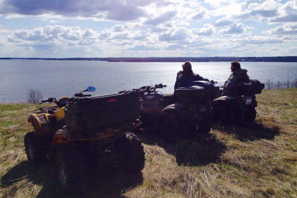 Отдых на Валдае, квадроциклы, озеро Велье, Валдайский национальный парк, VRh_Qa4ExQo