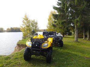 Отдых на Валдае, квадроциклы, озеро Велье, Валдайский национальный парк, vf1KUx6OtME