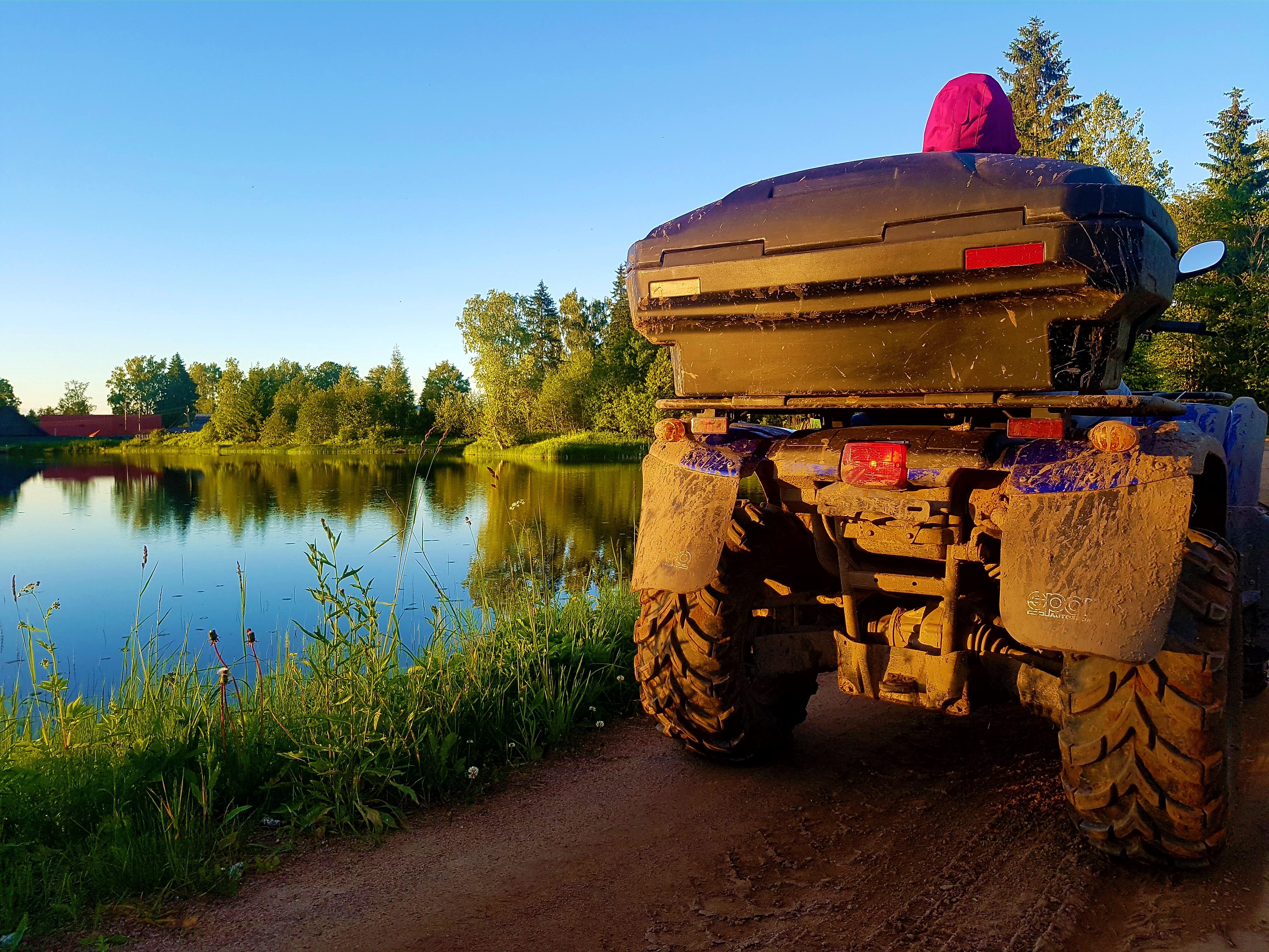 Отдых на Валдае, квадроциклы, озеро Велье, Валдайский национальный парк, 20170628_205950