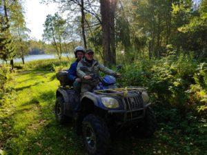 Отдых на Валдае, квадроциклы, озеро Велье, Валдайский национальный парк, 20170924_155244