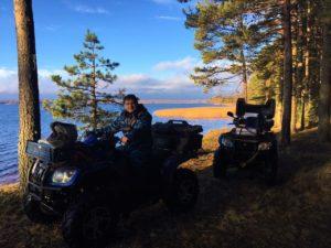Отдых на Валдае, квадроциклы, озеро Велье, Валдайский национальный парк, IMG-20171113-WA0032