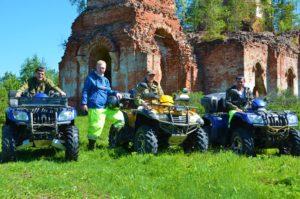 Отдых на Валдае, квадроциклы, озеро Велье, Валдайский национальный парк, DSC_0661