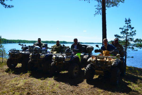 Отдых на Валдае, квадроциклы, озеро Велье, Валдайский национальный парк, DSC_0758